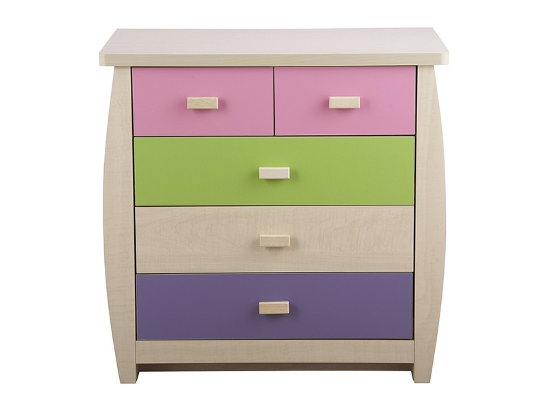 GFW Sydney Pastel 5-Drawer Chest Drawer Chest Image0 Image