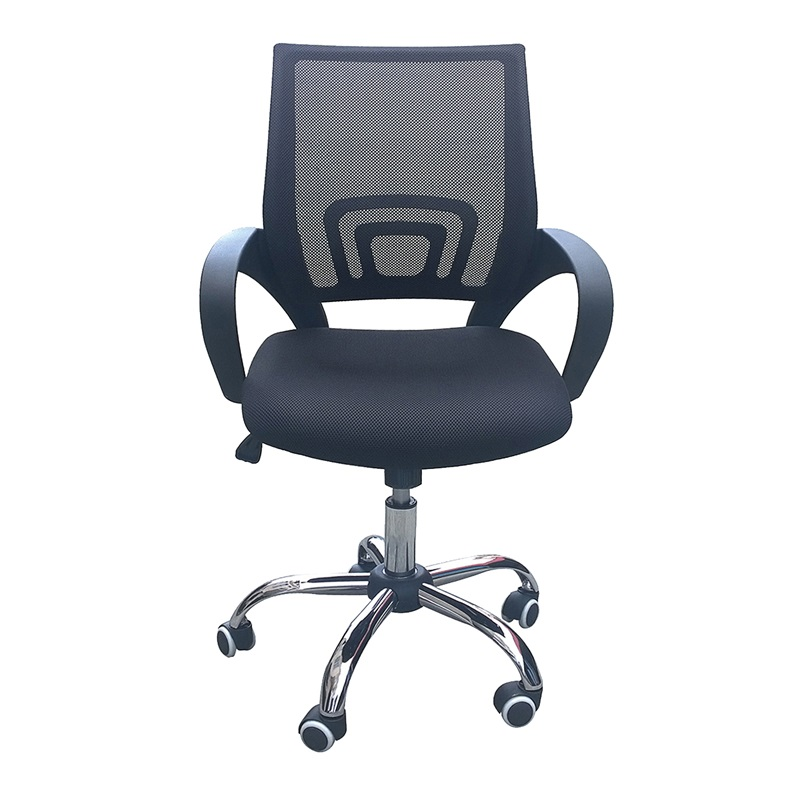 LPD Furniture Tate Mesh Back Office Chair 2\' 6 Small Single Black Office Chair Image0 Image