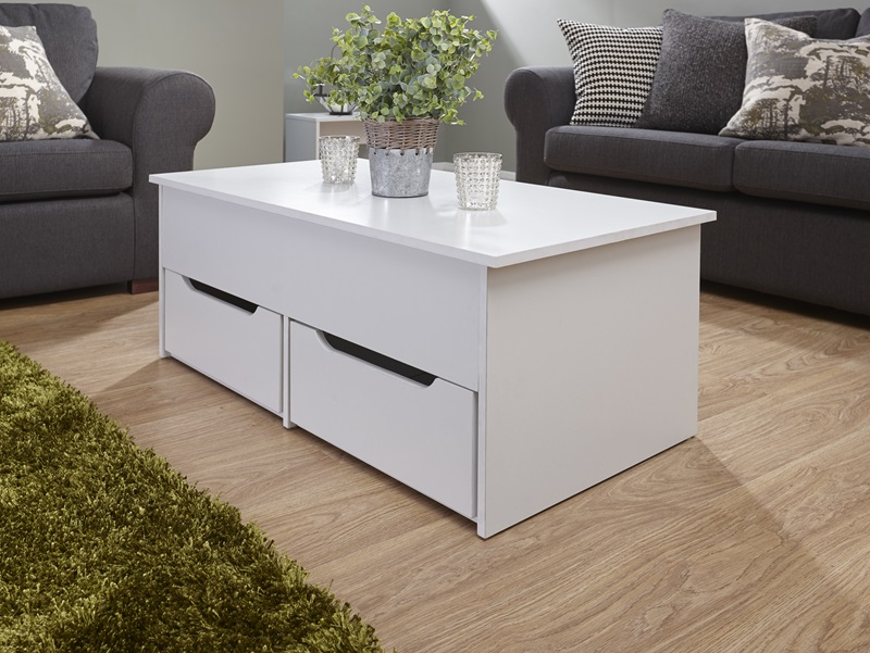 GFW Ultimate Storage Coffee Table White Coffee Table Image0 Image
