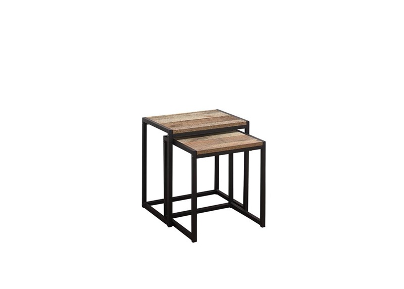 Birlea Urban Nest Of Tables Rustic Rustic Nest of Tables Image0 Image