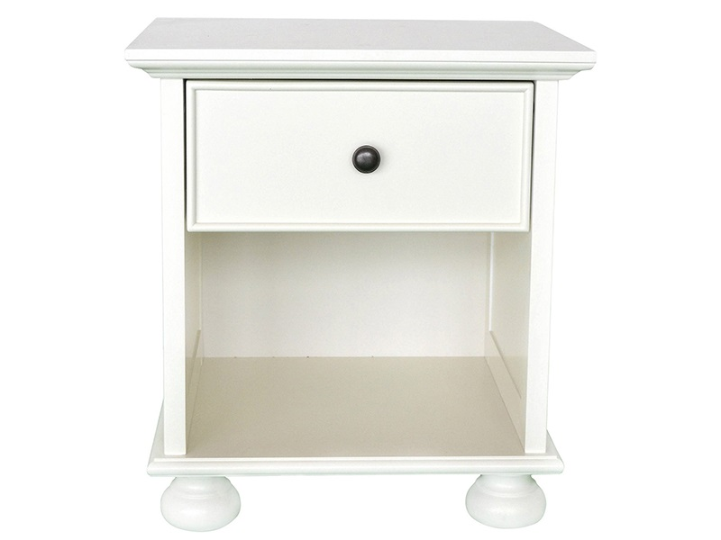 Versailles Bedside Table (1 Drawer) Main Image