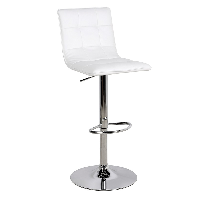 Wondrous Vigo Bar Stool White Dailytribune Chair Design For Home Dailytribuneorg