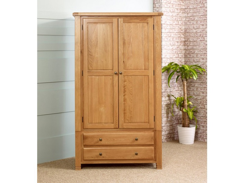 Woodstock 2 Door 2 Drawer Wardrobe Main Image